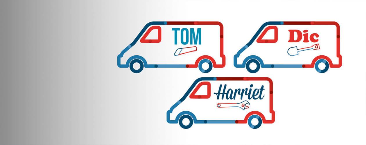 Tom Dick or Harriet